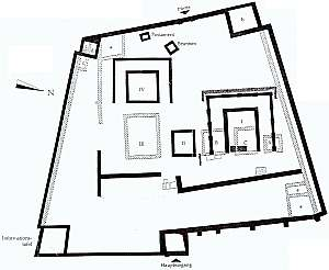 Abb : Der Grundriss der Tempelanlage