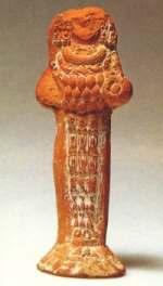 Terrakotte vom Typ der Artemis von Ephesos